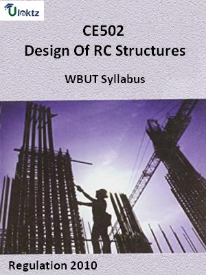 Design Of RC Structures - Syllabus