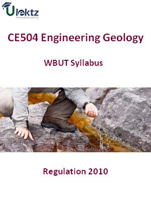 Engineering Geology  - Syllabus