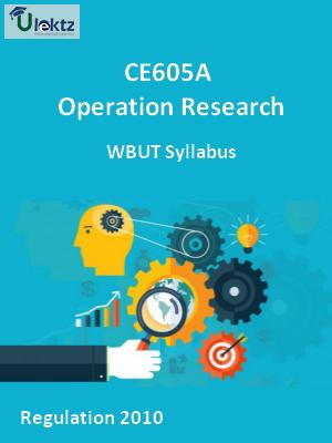 Operation Research - Syllabus