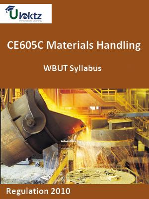 Materials Handling - Syllabus