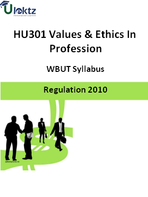 Values & Ethics In Profession - Syllabus