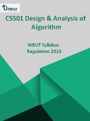 Design & Analysis of Algorithm-Syllabus