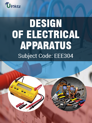 Design Of Electrical Apparatus