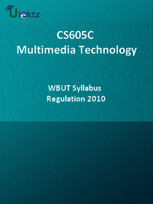 Multimedia Technology-Syllabus