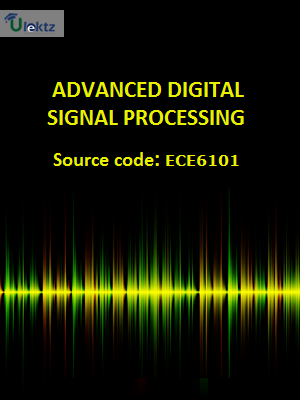 Advanced Digital Signal Processing - Syllabus