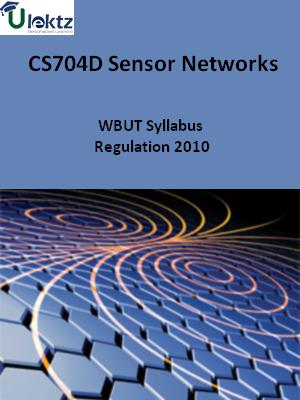Sensor Networks-Syllabus