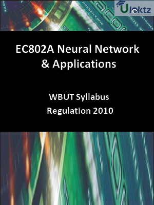 Neural Network & Applications - Syllabus