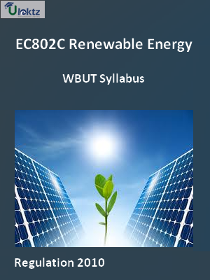 Renewable Energy - Syllabus