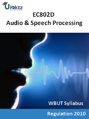 Audio & Speech Processing - Syllabus