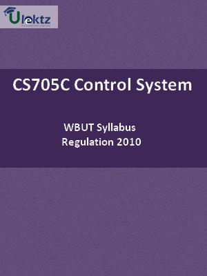 Control System-Syllabus