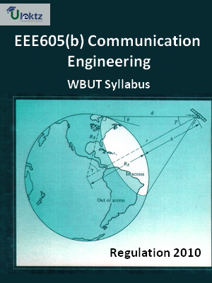 Communication Engineering - Syllabus