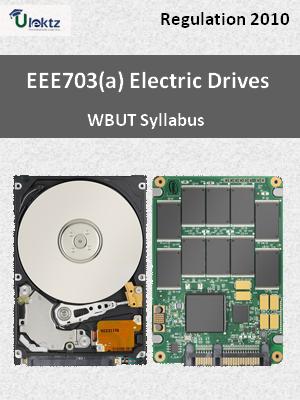 Electric Drives - Syllabus