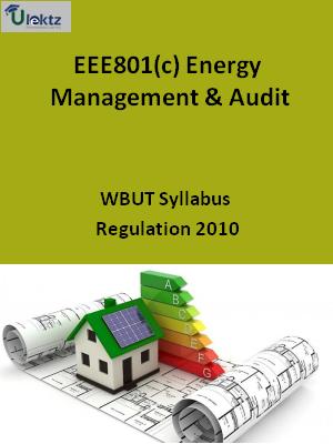 Energy Management & Audit - Syllabus