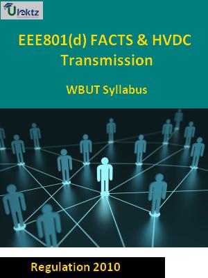 FACTS & HVDC Transmission - Syllabus
