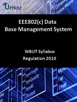 Data Base Management System  - Syllabus