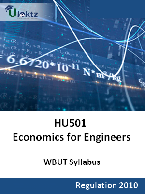 Economics for Engineers  - Syllabus