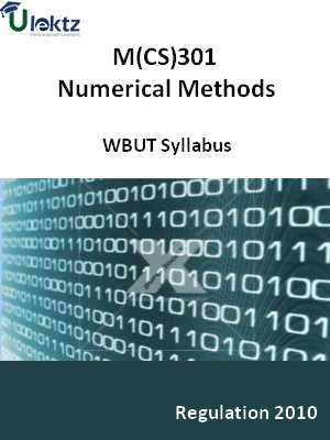 Numerical Methods - Syllabus