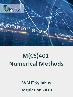 Numerical Methods - Syllabus