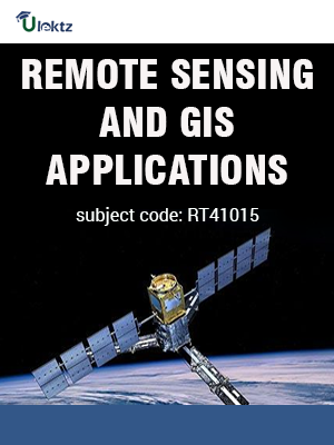 REMOTE SENSING AND GIS APPLICATIONS