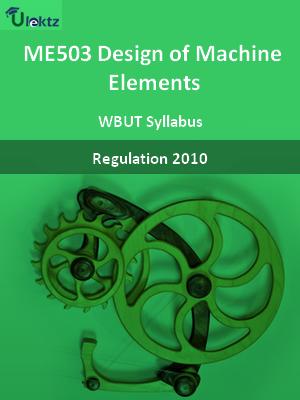 Design of Machine Elements - Syllabus