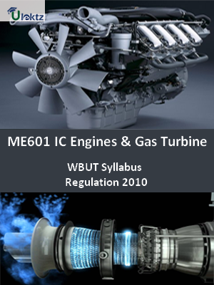 IC Engines & Gas Turbine - SyllabusEngines & Gas Turbine - Syllabus