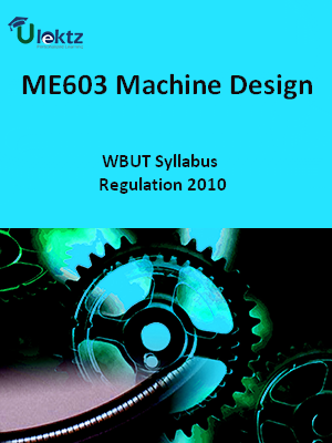 Machine Design - Syllabus