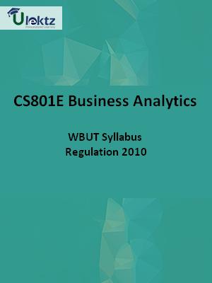 Business Analytics-Syllabus