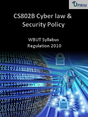 Cyber law and Security Policy-Syllabus