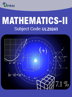 MATHEMATICS-II (MATHEMATICAL METHODS)