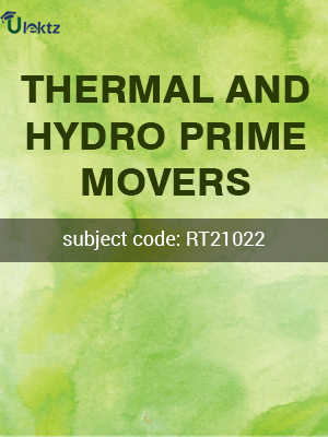 THERMAL AND HYDRO PRIME MOVERS