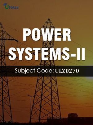 Power Systems-II