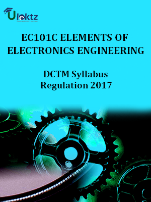 Elements of Electronics Engineering-Syllabus