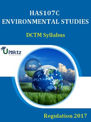 Environmental Studies-Syllabus