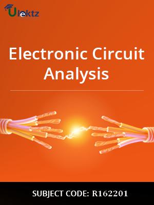 electronic circuit analysis syllabus r162201 ulektz learning