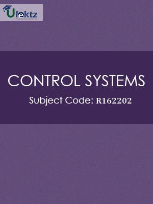 Control Systems - Syllabus