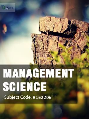 Management Science - Syllabus