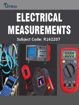 Electrical Measurements - Syllabus