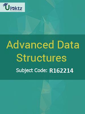 Advanced Data Structures - Syllabus