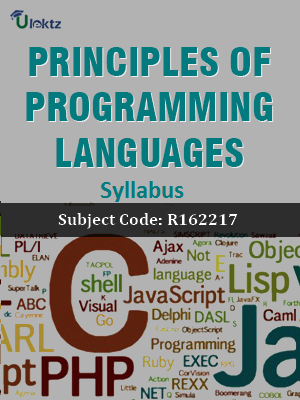 Principles of Programming Languages - Syllabus