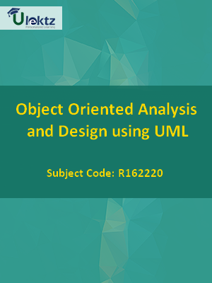 Object Oriented Analysis and Design using UML - Syllabus
