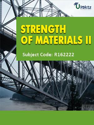 Strength of Materials - II - Syllabus