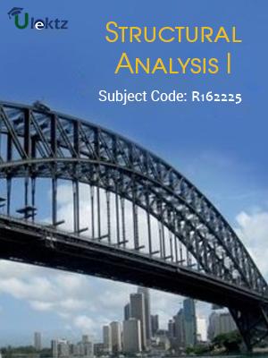 Structural Analysis - I - Syllabus