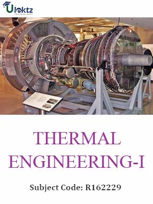 Thermal Engineering -I - Syllabus