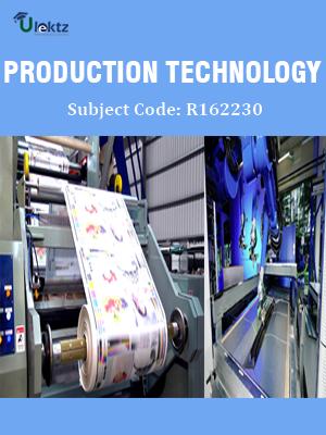 Production Technology - Syllabus