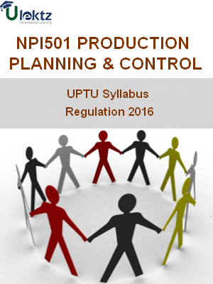 Production Planning & Control - Syllabus