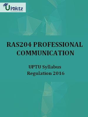 Professional Communication  - Syllabus