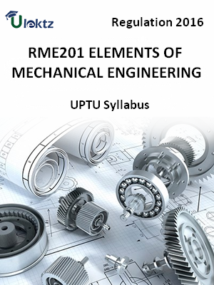 Elements of Mechanical Engineering - Syllabus