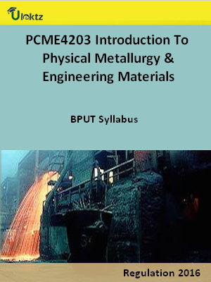 Introduction To Physical Metallurgy and Engineering Materials - Syllabus
