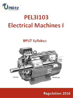 Electrical Machines- I - Syllabus