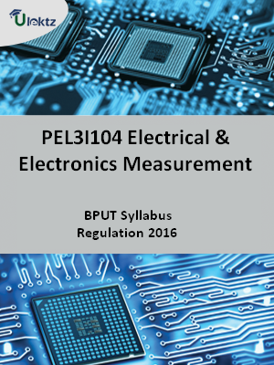 Electrical And Electronics Measurement - Syllabus